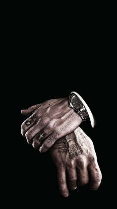 Black-mafia-watch-iPhone-Wallpaper