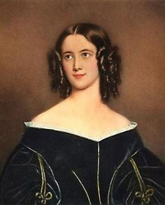 Porträt der Karolina Lizius (1820–1872)