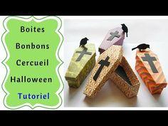 Comment faire des Boites Cercueil pour Halloween Tutoriel - YouTube Bricolage Halloween, Fete Halloween, Vintage Halloween, Usb Flash Drive, Origami, Dyi, Creations, Diy Crafts, How To Make