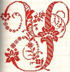 Letras grandes muy elegantes Y - Abecedarios punto de cruz ...                                                                                                                                                      Más
