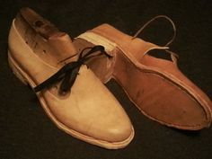this is a useful blog for beginning shoe making ideas