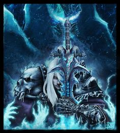 Arthas by Lihony on DeviantArt I Am A Queen, King Queen, Arthas Menethil, Lich King, Death Knight, Film Books, Sith, World Of Warcraft, Dark Art