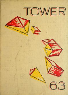 University of Detroit 1963 Tower Yearbook