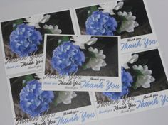 Southern Flowers Thank-You Card Set -  Photo by theRDBcollection.com, $10.00 | Keep up with your correspondence with these beautifully printed flat cards that are perfect for all your thank-yous.