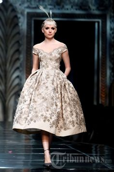 Fashion Show Karya Sebastian Gunawan, Foto 13 - Tribun Images