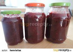 Švestková marmeláda recept - TopRecepty.cz Home Canning, Korn, Kimchi, Chutney, Salsa, Spices, Smoothie, Smoothies, Salsa Music