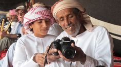 Little Ahmed and Sayyid, Bedouin of Oman
