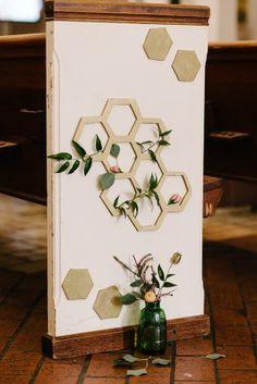 Wedding Stationery Inspiration: Hexagons