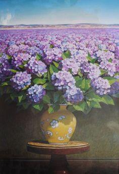 - Purple Bloom by Ernesto Arrisueno