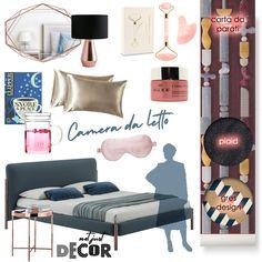 Arredi e accessori per una camera da letto in stile moderno design Plaid, Polyvore, Trendy Tree, Gingham, Tartan