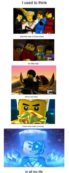 The truth about Ninjago...and not just that I can't get my computer to recognize it as a word :P