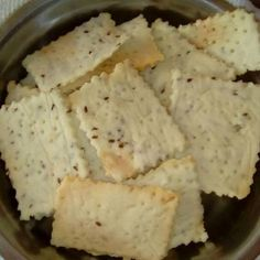 Galletitas (Crackers) de arroz - SIN GLUTEN!! Receta de Recetas fáciles con Arroz - Cookpad Gluten Free Recipes, Healthy Recipes, Tasty Bites, Lactose Free, Vegan Foods, Pinterest Recipes, Sweet Recipes, Sandwiches, Food And Drink