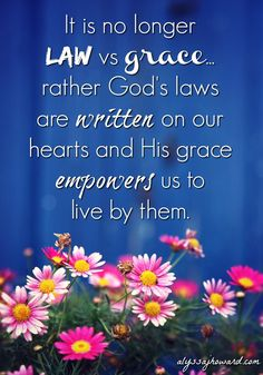 God gave us His Son for the forgiveness of our sins and then gave us the Holy Spirit to empower us and equip us to live holy lives.