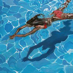 Saatchi Online Artist: Antoine Renault; Acrylic, 2013, Painting Rouge