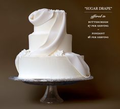 This was our wedding cake.  Those of you in NYC, please contact them, they're worth every PENNY!