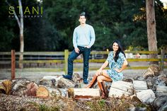 fall engagement photo session at the Ardenwood Historic Farm, CA