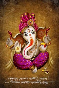 Lord Ganesha is one of the most popular Hindu deity. Here are top Lord Ganesha images, photos, HD wallpapers for your desktop and mobile devices. Ganesha Drawing, Lord Ganesha Paintings, Ganesha Art, Krishna Art, Jai Ganesh, Ganesh Lord, Shree Ganesh, Ganesha Pictures, Ganesh Images