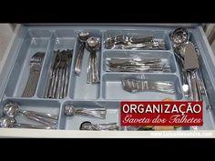 Organização da Gaveta dos Talheres • VÍDEO – Luísa Alexandra