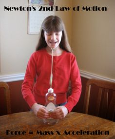Newton's 2nd Law of Motion - Squeeze Bottle Strong Man Game