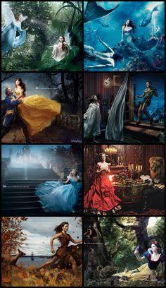 Found of the Annie Leibovitz's ❤ Disney Dream Portrait series
