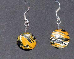 Villit korvakorut kiveä. Earrings. http://www.puu-luu.fi/