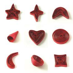 Μερικά ακόμα σχήματα που μπορείτε να φτιάξετε εύκολα!!! Το μόνο που χρειάζεστε είναι έμπνευση! Happy Quilling!