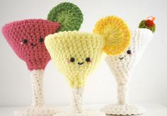 Ravelry: Amigurumi- Happy Hour Collection pattern by You Cute