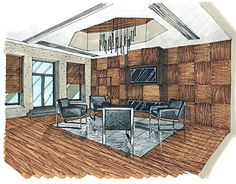 """Check out new work on my @Behance portfolio: """"Sketch for Moscow Exchange (Meeting room)"""" http://be.net/gallery/54230511/Sketch-for-Moscow-Exchange-(Meeting-room)"""