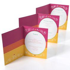 Kleurrijk feesten met de Wervelwind menukaarten – Beaublue #menu #wervelwind #partybox #beaublue