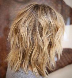 Medium Shag Haircut For Thick Hair