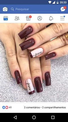 30 Most Popular Nail Art Design 2019 Nail art design is a critical portion of a manicure regimen. You don't have to sulk if you've got short nails ladies! Water marbling nails art ideas isn't a struggle, although it can be a bit messy. Classy Nails, Stylish Nails, Simple Nails, Trendy Nails, Latest Nail Designs, Latest Nail Art, Simple Nail Art Designs, French Manicure Nails, Diy Nails