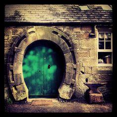 Doorway To The Old Forge, Ford Village, Northumberland Cool Doors, Unique Doors, Entrance Doors, Doorway, Gates, Dream Stables, Equestrian Decor, Horse Barns, Door Knockers