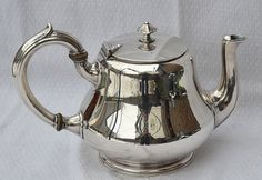 french silver from Christofle : old tea pot