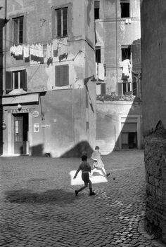 Henri Cartier-Bresson - Rome. 1959.