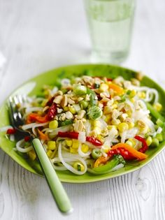 Pepper & Noodle Salad | Vegetables Recipes | Jamie Oliver#JT6eRP67xFi5HCmY.97#JT6eRP67xFi5HCmY.97