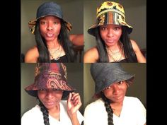 An EASY DIY: Reversible Bucket Hat Tutorial ! ✄ https://www.youtube.com/watch?v=gYldGOFBKSw