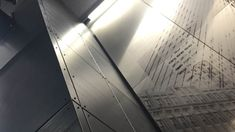 North Station - Boston - interior metal walls - 3mm aluminum - Frozen Titanium - face fastened panel system