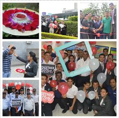 """""""Together we are better"""" was brought to life as our associates engaged, welcomed and celebrated the spirit of Marriott+Starwood.  Marriott International  #Togetherwearebetter #MIAPAC #MIWorld #JourneyStartsHereAP"""