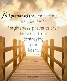Forgiveness doesn't excuse their behavior. Forgiveness prevents their behavior… Forgiveness doesn't excuse their behavior. Forgiveness prevents their behavior from destroying your heart ~~❤~~ Great Quotes, Quotes To Live By, Me Quotes, Inspirational Quotes, Jesus Quotes, Poetry Quotes, Wisdom Quotes, Qoutes, Motivational Quotes
