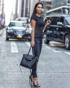 All Black Outfit Trendy Summer Outfits, Cozy Winter Outfits, Spring Outfits, Indigo, All Black Outfit, Black Outfits, Winter Stil, Pinterest Fashion, Lingerie