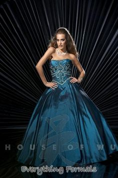 Marvelous and Regal #Taffeta #Strapless A-Line Long #PromGown by #Studio17 Style 12216~ MSRP: $336.86 Guaranteed Low Price: $266.99 (You save $69.87) *This product is on SALE $266.99 (http://www.everythingformals.com/studio-17-sale-long-dress-12216/)