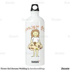Flower Girl Autumn Wedding SIGG Traveler 1.0L Water Bottle
