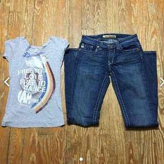 BIG STAR LIKE NEW! 26L & Small Top Big Star 26L Like New & Small Top Big Star Jeans Boot Cut