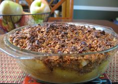 Paleo Apple Crisp | The Paleo Mom. this one is okay. not really a dessert. more of a side dish.
