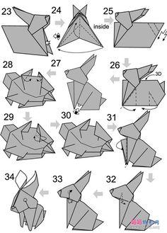 origami rabbit 3