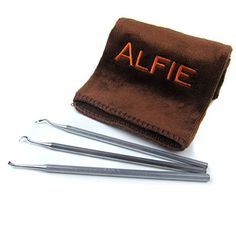 Alfie Pet by Petoga Couture - Dagan Dental Tarter Remover/Scraper 3-piece Set with Microfiber Fast-Dry Washcloth -- Find out @