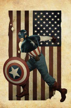 Captain AMERICA!!