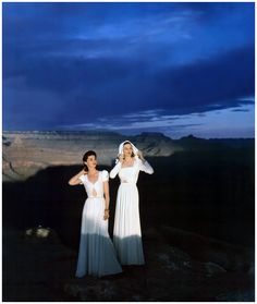 Vogue goes to the Grand Canyon, circa 1941 by Luis Lemus