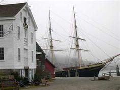 Mystic Seaport Village, Ct.