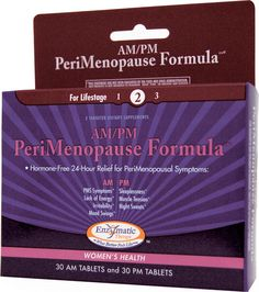 Enzymatic Therapy AM PM PeriMenopause Formula™